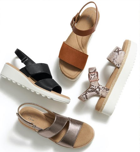 Sport-Inspired Sandals for Spring from DSW Shoes