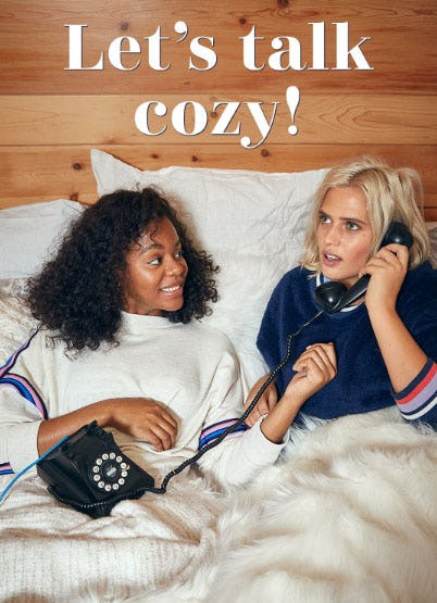 Let's Talk Cozy from Aerie