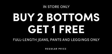 Buy 2 Bottoms, Get 1 Free from Torrid