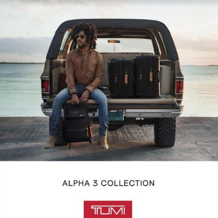 Alpha 3 Collection from TUMI
