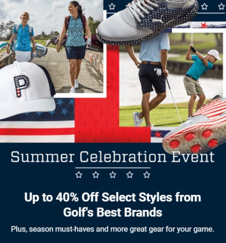 Summer Celebration Event from Golf Galaxy