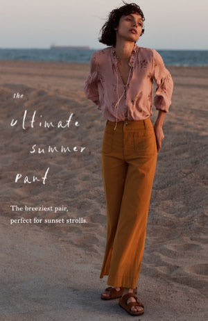 The Ultimate Summer Pant from Anthropologie