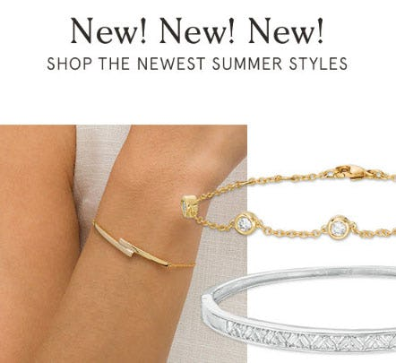 Shop All New Bracelets from Zales The Diamond Store