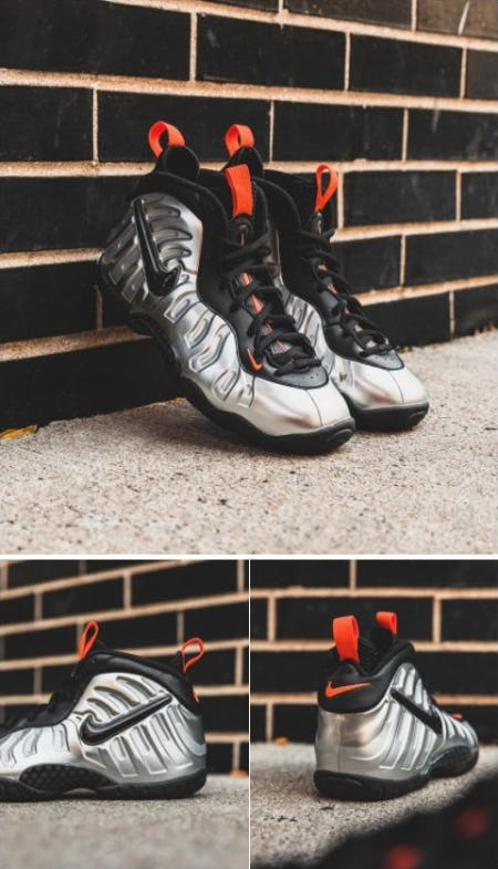 Nike Air Foamposite One Halloween from DTLR