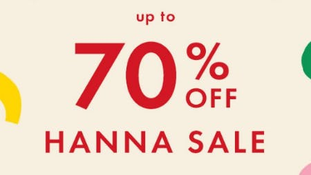 Up to 70% Off Hanna Sale from Hanna Andersson