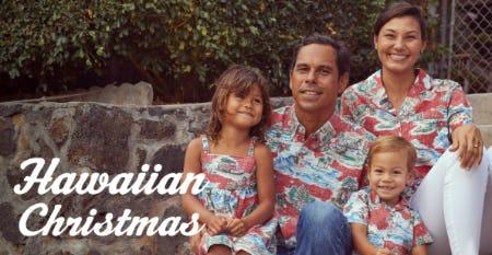 The 2021 Hawaiian Christmas Collection from Reyn Spooner