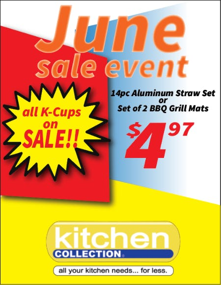 June Deals from Kitchen Collection
