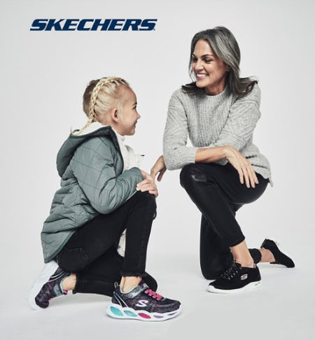 Merry & Bright Skechers from DSW Shoes