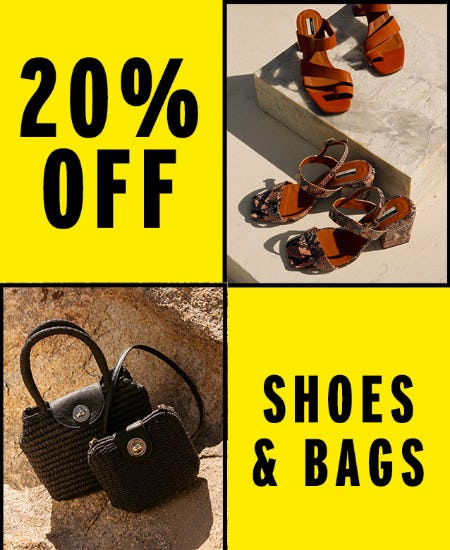 636961183 20% Off Shoes and Bags from TOPSHOP