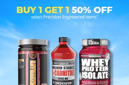 Buy 1, Get 1 50% Off on Select Precision Engineered Items