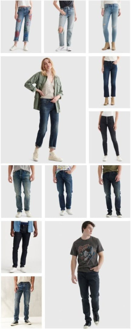 Iconic Denim from Lucky Brand Jeans