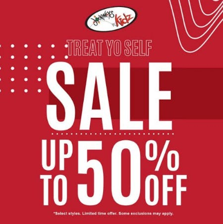 Sale up to 50% Off from Journeys Kidz