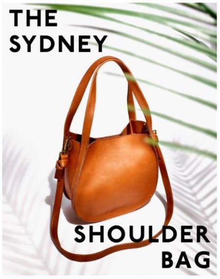 Meet Sydney: The Perfect Medium Bag You've Been Looking For from Madewell
