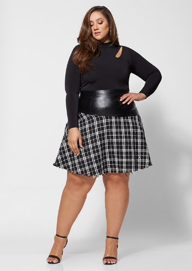 The Lydia Tweed Skirt from Fashion To Figure
