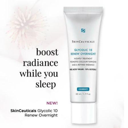 Skinceuticals Glycolic 10 Renew Overnight