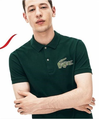 New Holiday Polos for You or for Them from Lacoste