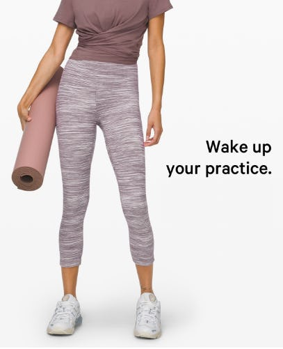 A New Print for Align Is In from lululemon