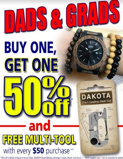 Dads and Grads Promotion