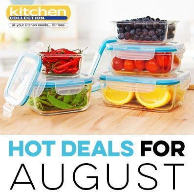 August_Kitchen Collection 2018 Promotions and Sales from Kitchen Collection