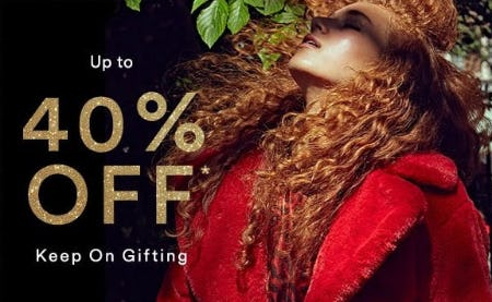 Up to 40% Off People-Pleasing Gifts