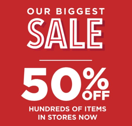 Our Biggest Sale from Books-A-Million