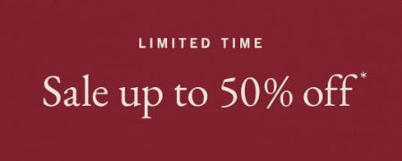 Up to 50% Off Sale from Abercrombie & Fitch
