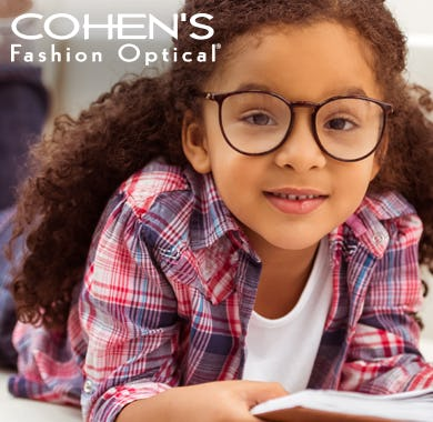 Back To School Sale from Cohen's Fashion Optical