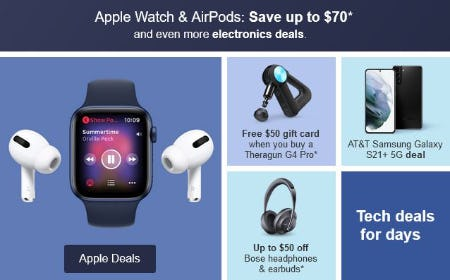 Apple Watch AirPods: Save Up to $70 from Target