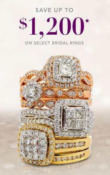 Save up to $1,200 on Select Bridal Rings from Kay Jewelers