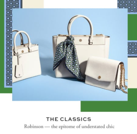 Shop the Robinson Handbag Collection