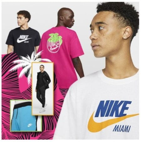 The Nike Miami South Beach Collection from Champs Sports