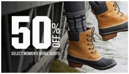 50% Off Select Women's Sorel Boots from Dick's Sporting Goods