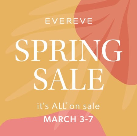 Spring Sale from Evereve