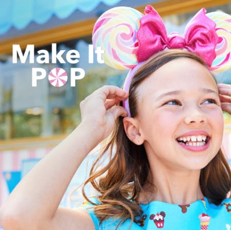 Make it Pop from Disney Store