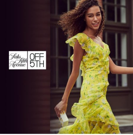 Shop Spring Fashion for Less at Saks OFF 5TH Stores