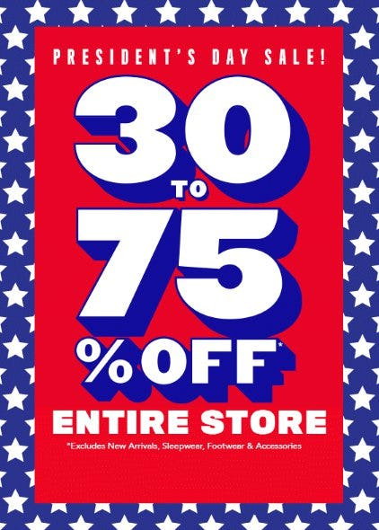 President's Day Sale from The Children's Place