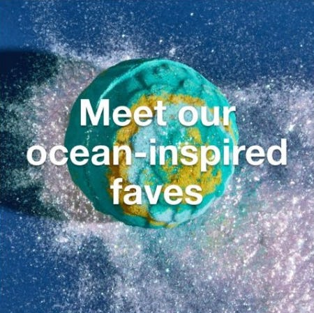 Ocean-Inspired Faves from LUSH