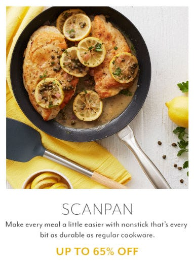 Up to 65% Off Scanpan