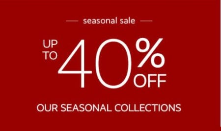 Up to 40% Off Our Seasonal Collections from Pottery Barn Kids
