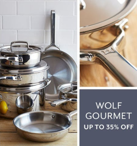 Up to 35% Off Wolf Gourmet