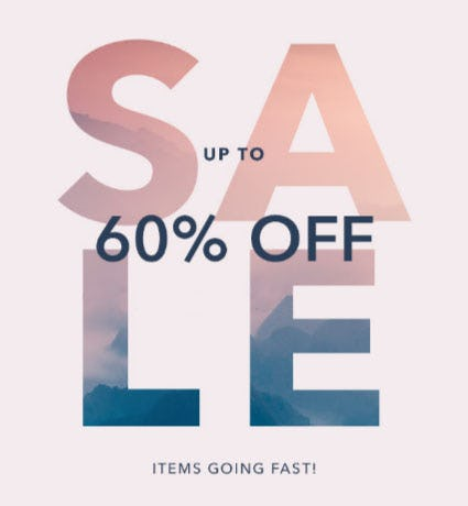 Up to 60% Off Sale from Athleta