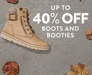Boots & Booties Up to 40% Off