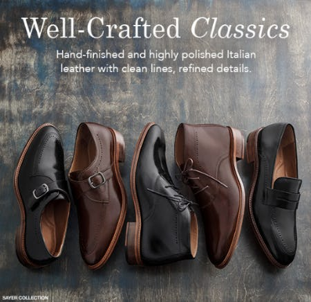 Well Crafted Classics from JOHNSTON & MURPHY