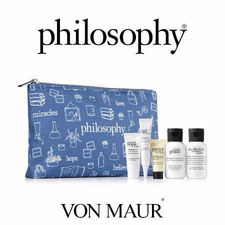Philosophy Gift With Purchase from Von Maur