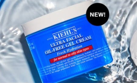Discover the Ultra Facial Oi-Free Gel Cream from Kiehl's Since 1851