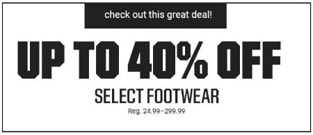 Up to 40% Off Select Footwear from Dick's Sporting Goods