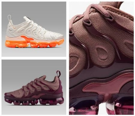 New Release: Women's Nike Air VaporMax Plus from Footaction