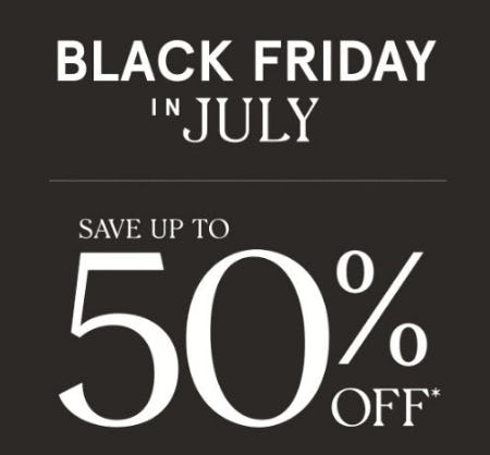 Black Friday in July from Zales Jewelers