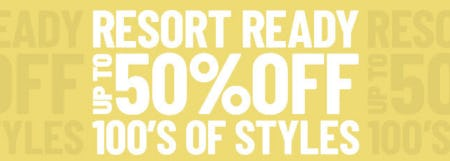 Up to 50% Off 100's of Styles