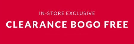 Clearance BOGO Free from Lane Bryant